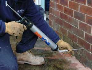 Atlantis fixing rising damp