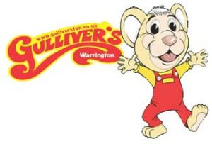 Warrington's Gulliver's World logo