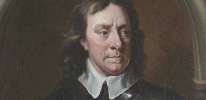 Painting of Oliver Cromwell who visited Warrington