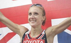 a picyure of Paula Radcliffe from Northwich